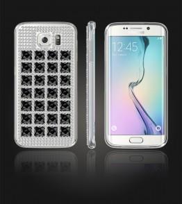 Diamond TPU Case Galaxy S6 edge - Black
