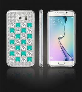Diamond TPU Case Galaxy S6 edge - Mint