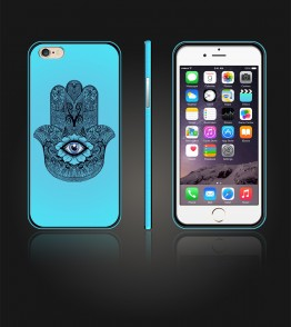 Design Candy Case iphone 6/6S - Light Blue