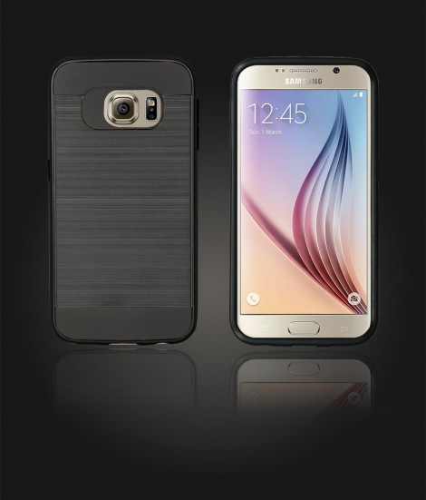 Metal Case Galaxy S6 - Black