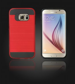 Metal Case Galaxy S6 - Red