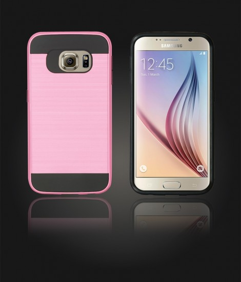 Metal Case Galaxy S6 - Pink