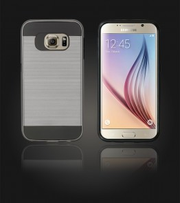 Metal Case Galaxy S6 - Hot Silver