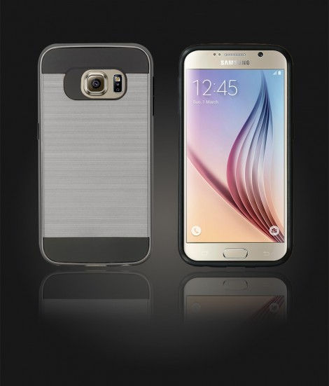 Metal Case Galaxy S6 - Hot Silver