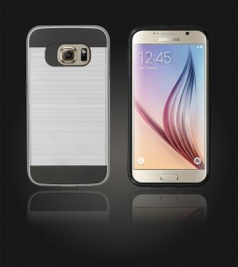 Metal Case Galaxy S6 - Silver