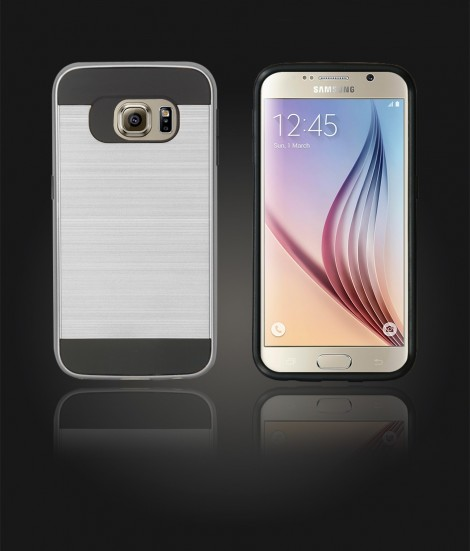 Metal Case Galaxy S6 - Silver