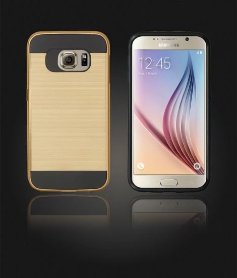 Metal Case Galaxy S6 - Gold