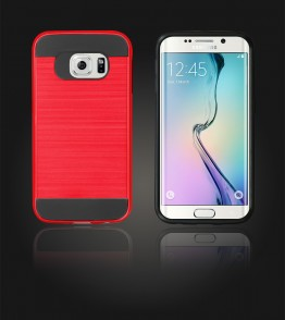 Metal Case Galaxy S6 edge - Red