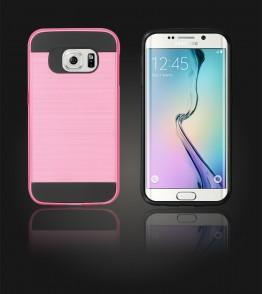 Metal Case Galaxy S6 edge - Pink