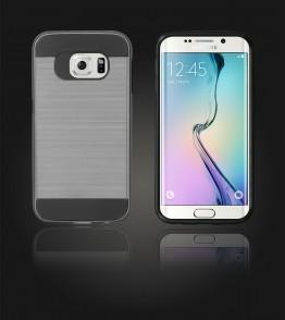 Metal Case Galaxy S6 edge - Hot Silver