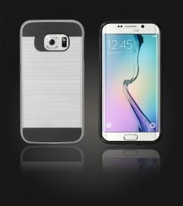 Metal Case Galaxy S6 edge - Silver