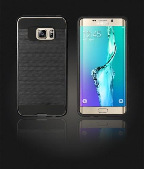 Metal Case Galaxy S6 edge Plus - Black