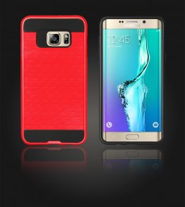 Metal Case Galaxy S6 edge Plus - Red