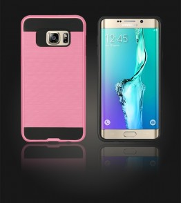 Metal Case Galaxy S6 edge Plus - Pink