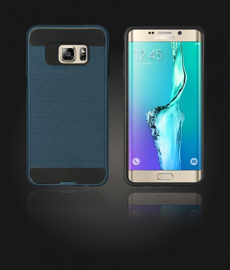 Metal Case Galaxy S6 edge Plus - Blue