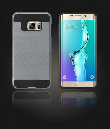 Metal Case Galaxy S6 edge Plus - Hot Silver