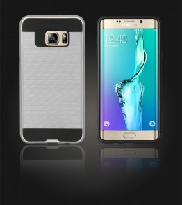 Metal Case Galaxy S6 edge Plus - Silver
