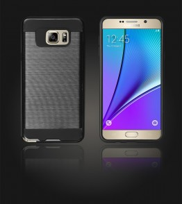 Metal Case Galaxy Note 5 - Black
