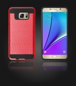 Metal Case Galaxy Note 5 - Red