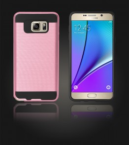 Metal Case Galaxy Note 5 - Pink
