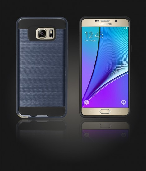Metal Case Galaxy Note 5 - Blue