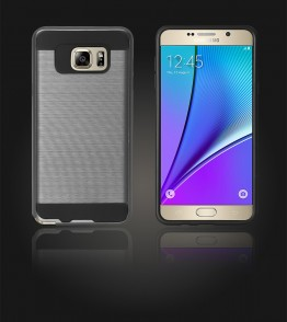 Metal Case Galaxy Note 5 - Hot Silver