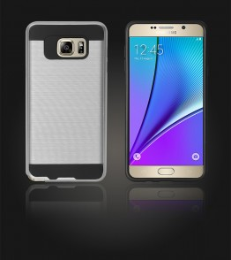Metal Case Galaxy Note 5 - Silver