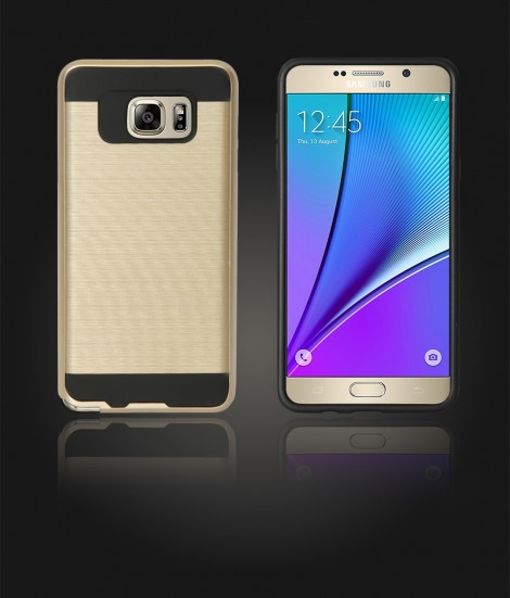 Metal Case Galaxy Note 5 - Gold