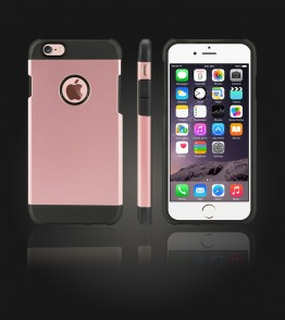 Duo Protection Case iphone 6/6S - Rose Gold