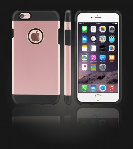 Duo Protection Case iphone 6 Plus/6S Plus - Rose Gold