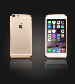 Electroplated TPU Case iphone 6 Plus/6S Plus - Gold