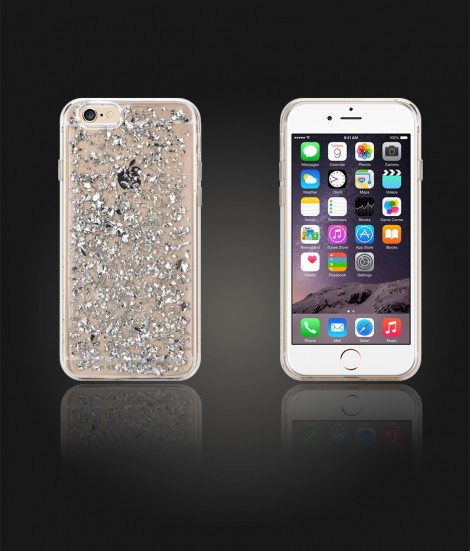 24 Karat Case iphone 6/6S - Silver