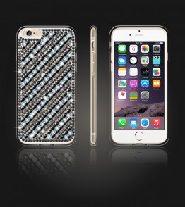 Diamond TPU Case iphone 6 Plus/6S Plus - Black