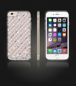 Diamond TPU Case iphone 6 Plus/6S Plus - White