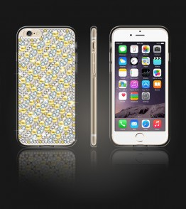 Diamond TPU Case iphone 6 Plus/6S Plus - Gold