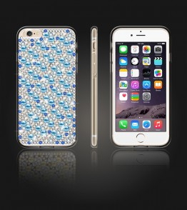 Diamond TPU Case iphone 6 Plus/6S Plus - Blue