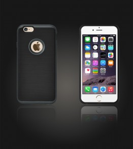Dome Case iphone 6 Plus/6S Plus - Black