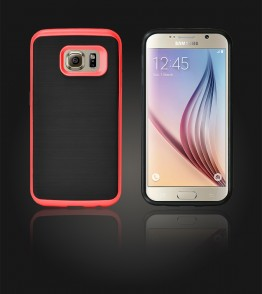 Dome Case Galaxy S6 - Red