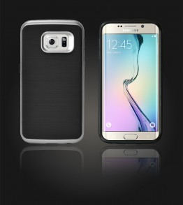 Dome Case Galaxy S6 edge - Silver