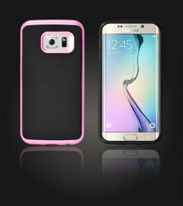 Dome Case Galaxy S6 edge - Pink
