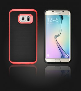 Dome Case Galaxy S6 edge - Red
