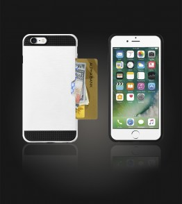 Metal Credit Case iphone 7 - White