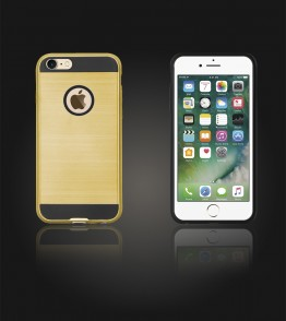 Metal Case iphone 7 - Gold