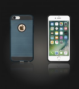Metal Case iphone 7 - Blue
