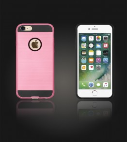 Metal Case iphone 7 - Pink