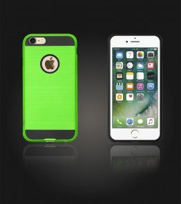 Metal Case iphone 7 - Green