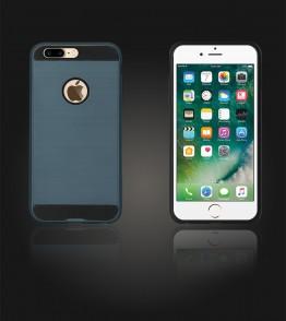 Metal Case iphone 7 Plus - Blue