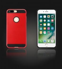 Metal Case iphone 7 Plus - Red