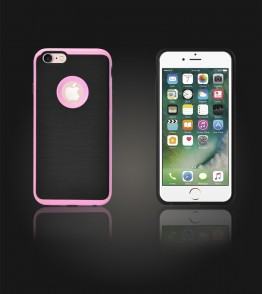 Dome Case iphone 7 - Pink
