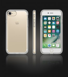 Transparent TPU case iphone 7 - Clear